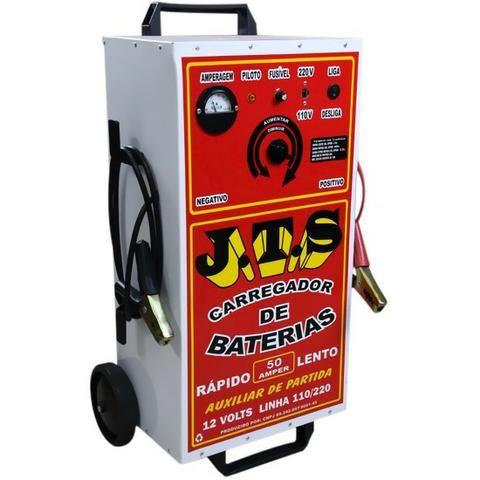 Carregador De Bateria 50a 6/12v Com Auxiliar De Partida Jts - Manaus AM