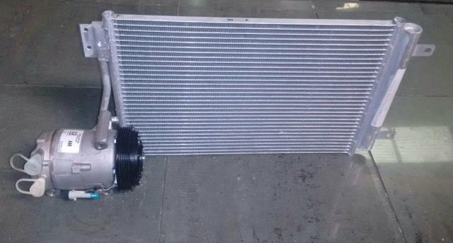 Kit compressor e condensador