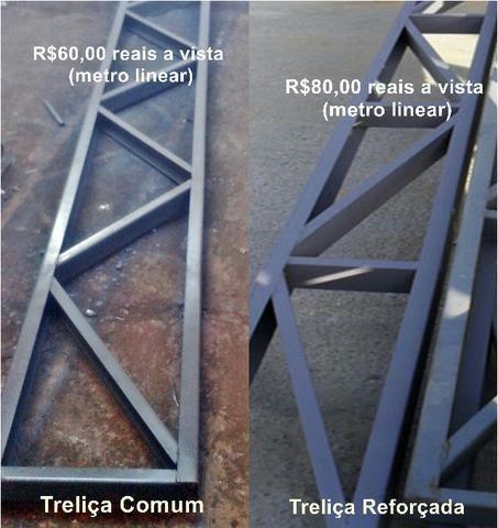 Oferta de Treliça metalica