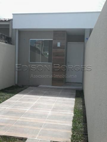 Casa à venda com 2 dormitórios em Campo de santana, Curitiba cod:EB+4844