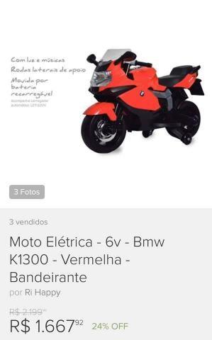 Vende-se Moto Elétrica BMW (pouco uso) - Foto 6