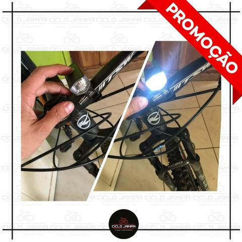 Lanterna Farol Led dianteiro de bicicleta