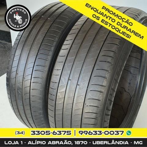 Vendo 2 Pneus 225/55 R18 Seminovos Michelin - Foto 2
