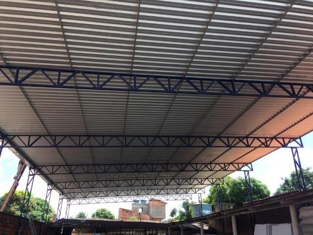 Policarbonato e telha galvanizada - Foto 5