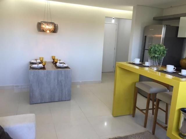 Apartamento 2qts 1suite 1vaga, alto padrao, lazer, prox shopping Buriti, ac financiamento - Foto 8