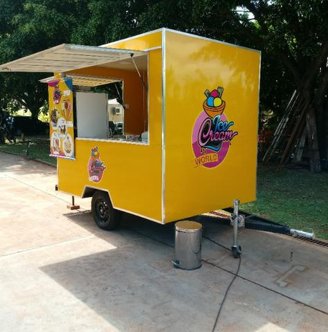 Vendo Food Truck de Sorvetes - Foto 2