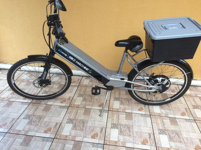Bicicleta elétrica 800 watts - Foto 4