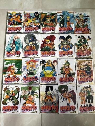 Mangá Naruto Gold - Diversos Volumes