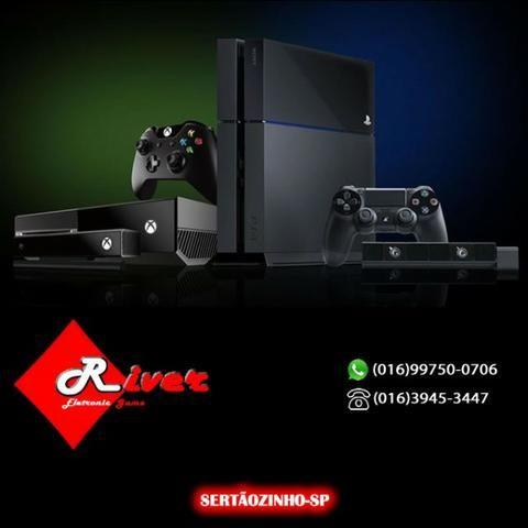 Consoles Playstation 4 - Xbox One - Nintendo - Games e Acessórios