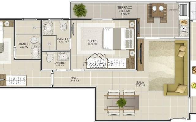 Lançamento Apartamento no Boqueirão em Praia Grande - Foto 6