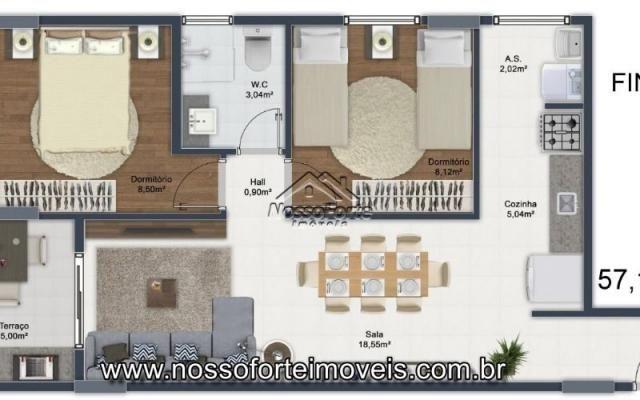 Lançamento Apartamento na Mirim em Praia Grande - Foto 12