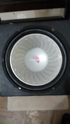 Caixa Selada Regency Com Sub 12 Falcon Bobina Dupla