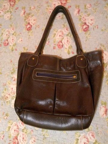 48e361192e Bolsa de couro roxa - Bolsas