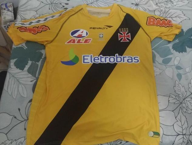 cd57497652161 Camisa Vasco da Gama Original Goleiro Penalty Amarela - Roupas e ...