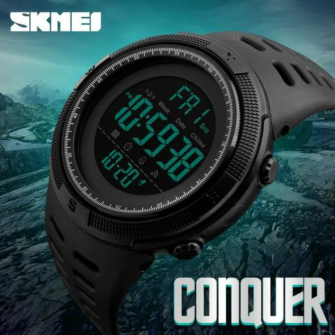 36620c19fb Relógio Masculino Skmei 1251 Digital Esportivo. Prova D´água ...