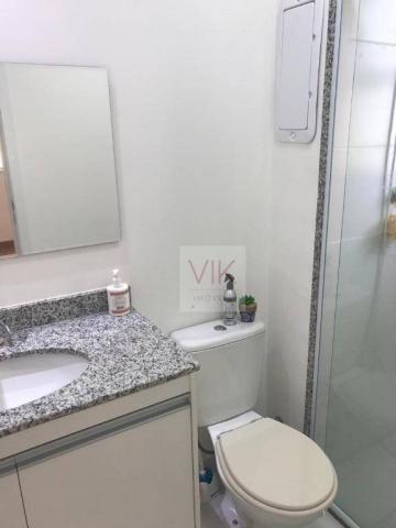Apartamento com 2 dormitórios para alugar, 86 m² por r$ 2.400/mês - jardim ypê - paulínia/ - Foto 15