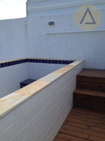 Cobertura com 2 dormitórios à venda, 122 m² por r$ 370.000 - lagoa - macaé/rj - Foto 5