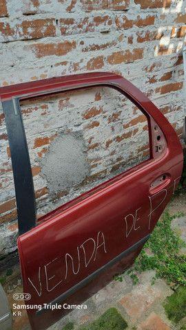 Porta traseira esquerda palio 97 a 2003