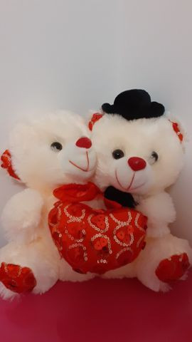 Casal de ursinhos para o dia dos namorados