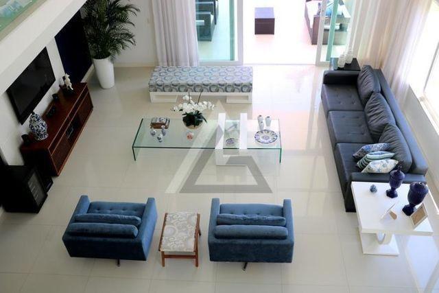 Casa de luxo mobiliada 6 quartos em Guarajuba/Camaçari-BA - Foto 12
