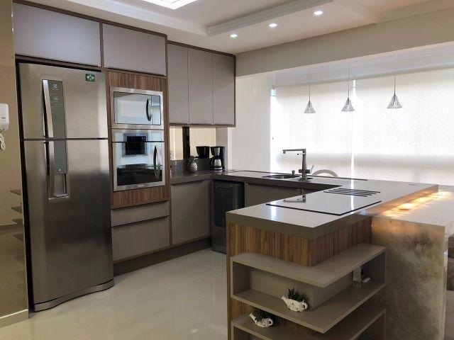 Apartamento à 300m mar com 02 dorms, novo, excelente mobilia!!!