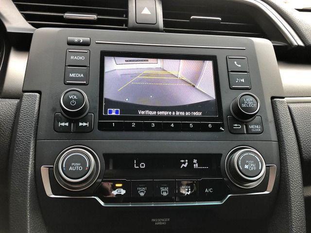 Honda Civic Lx 2.0 Cvt Flex Azul Cósmico Único dono - Foto 12