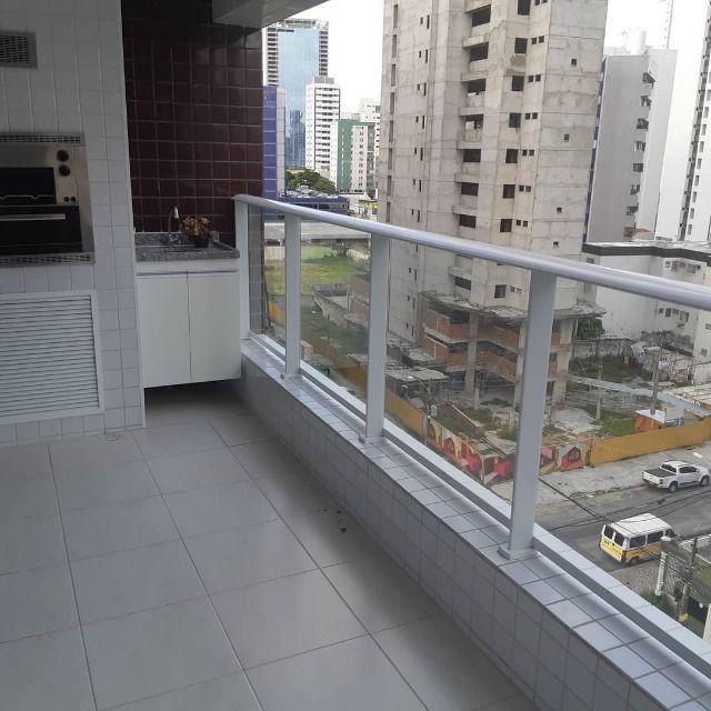 Alugo apartamento 89 metros, varanda gourmet, lazer completo no Riviera - Foto 7