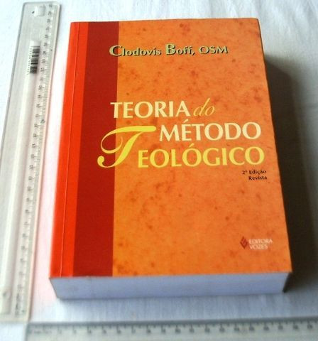 Livro Religioso - Teoria do Método Teológico - Clodovis Boff - 1999 - Foto 2