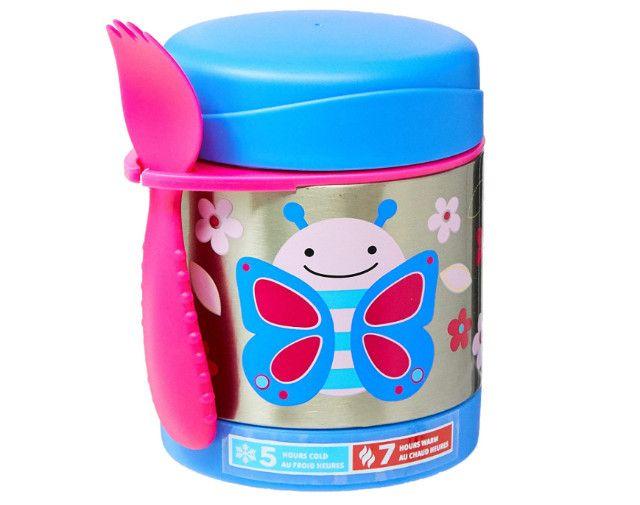 Pote Térmico Skip Hop Baby Zoo Butterfly Borboleta 325ml
