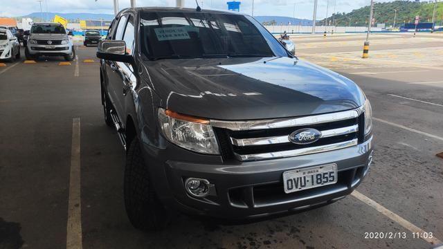 Vendo ranger Diesel XLT 3.2 CD manual 100% original segundo dono! - Foto 13