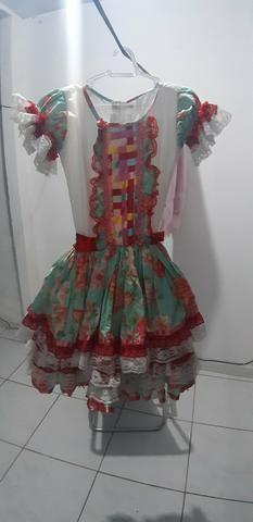 Lindo vestido de quadrilha ( de 5 já 7 anos ) - Foto 2