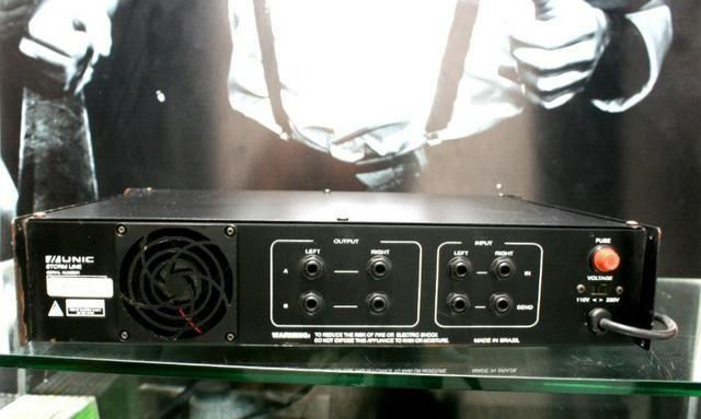 Amplificador Unic ZX200 Promoção 400 reais - Foto 2