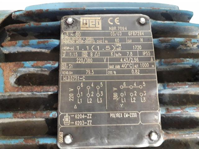 Motor 220/380 - Foto 3