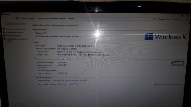 Computador novinho pra vender logo