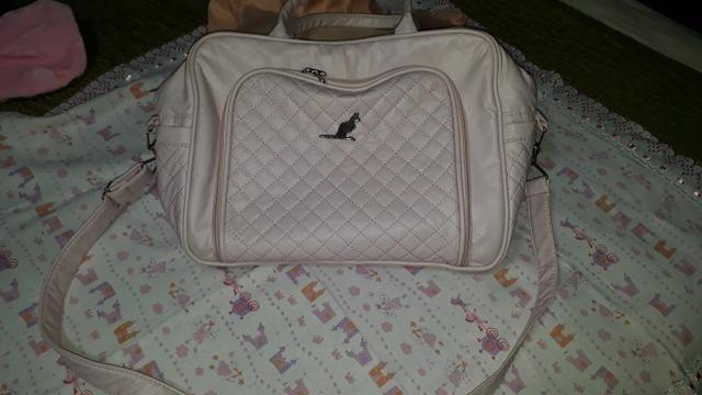 Bolsa Maternidade Rosa bebê Tam. grande - Foto 3