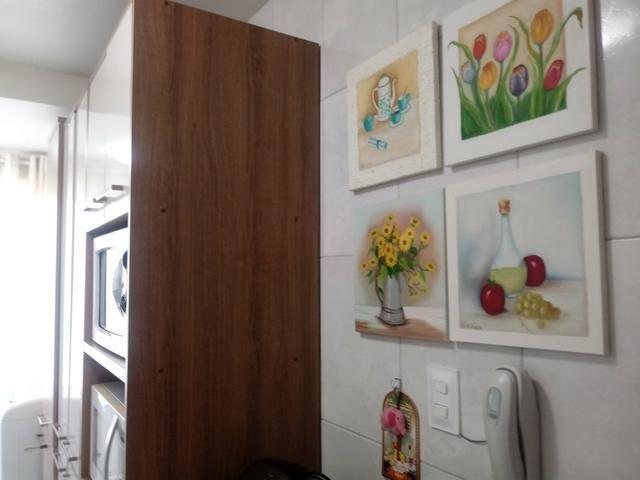 Apto 3 dorm (1 suíte), cozinha com planejados, vista livre, vaga livre - Foto 5