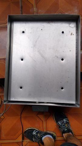Marmiteiro elétrico 220v 60 por 50 cm - Foto 3