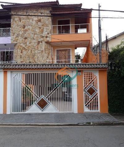 Sobrado com 3 dormitórios à venda, 165 m² por R$ 800.000,00 - Vila São Ricardo - Guarulhos