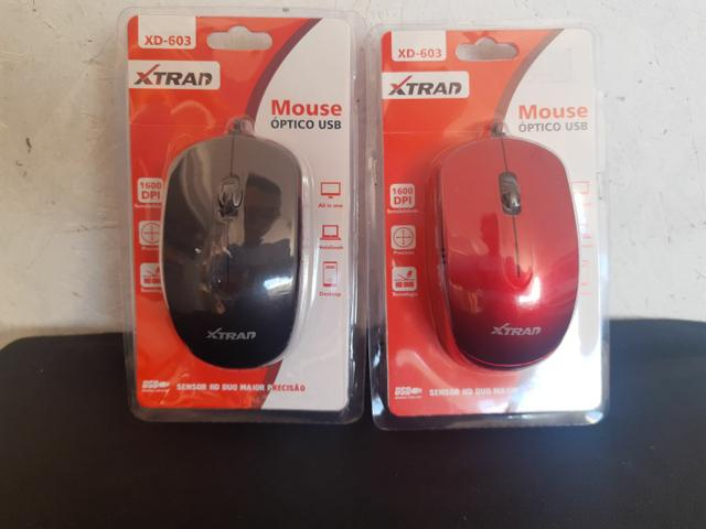 Mouse com fio USB XTRAD  - Foto 2