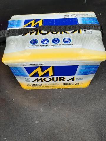 Bateria MOURA 60 amp nova lacrada - Foto 3