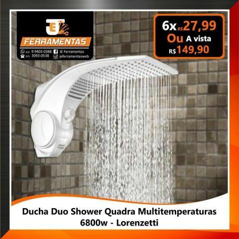 Chuveiro ducha duo