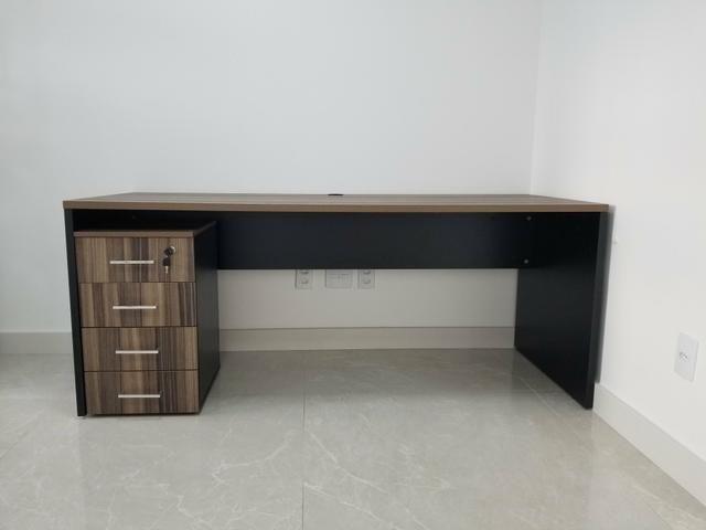 Mesa Escritório com Gaveteiro - Foto 2