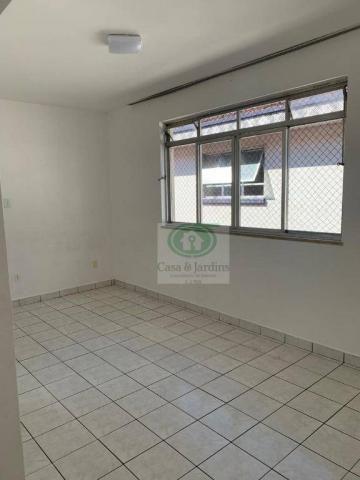 Ótimo apartamento de frente 03 dormitórios. GARAGEM FECHADA - Santos