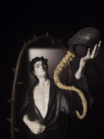 Estátua Sandman Morpheus Neil Gaiman DC Vertigo DC Collectibles Original e limitada! - Foto 2