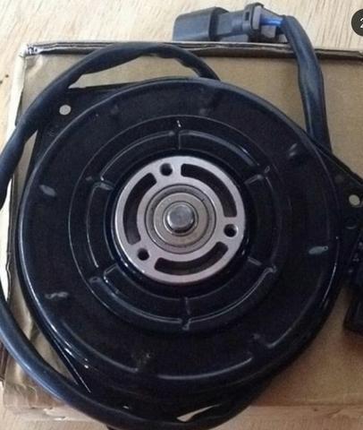 Motor da ventoinha do ar condi. E Radiador Honda 06/11 - Foto 2