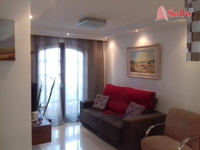 Apartamento com 3 dormitórios à venda, 79 m² - Vila Rosália - Guarulhos/SP - Foto 2