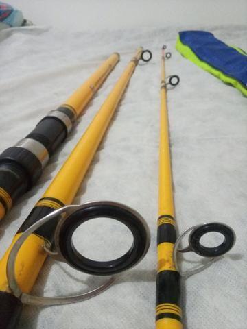 Kit de pesca de praia - Foto 4