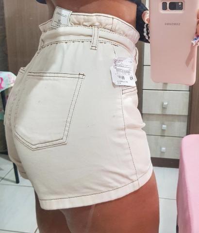 Shorts cos alto com Cinto - Foto 2