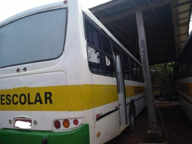 Ônibus Escolar M.benz buscar 51 lug - Foto 8