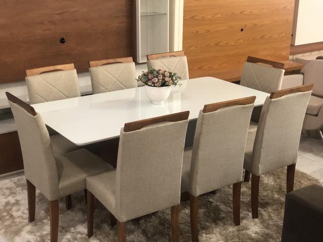 Mesa MIleide oito de jantar